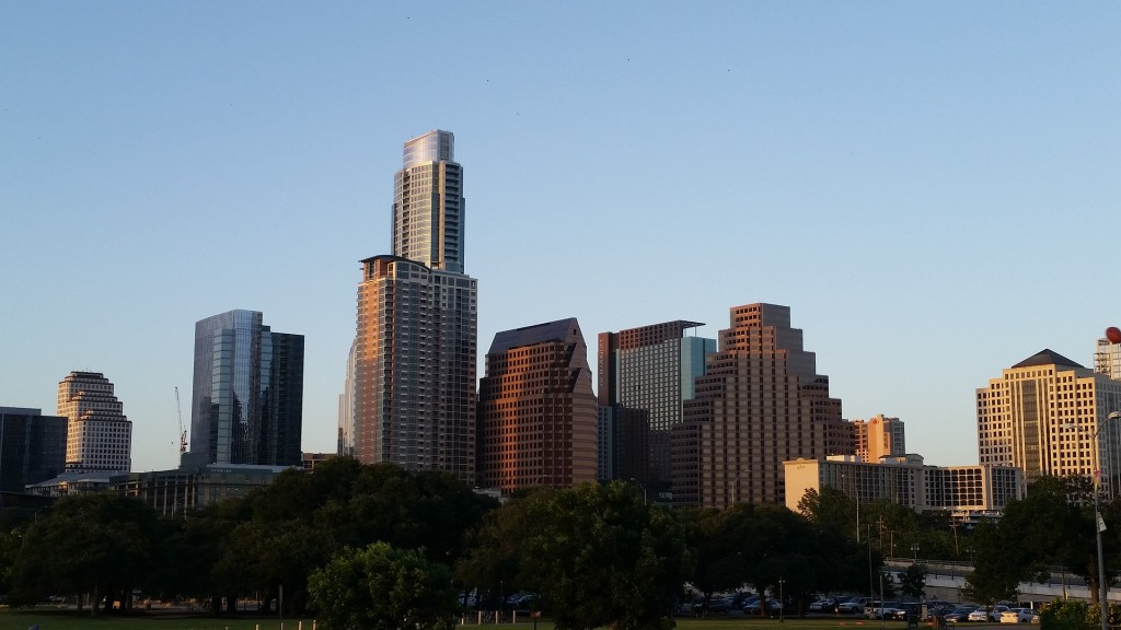 Austin's skyline seems to have a new building every week, growing as the city swells with new residents.