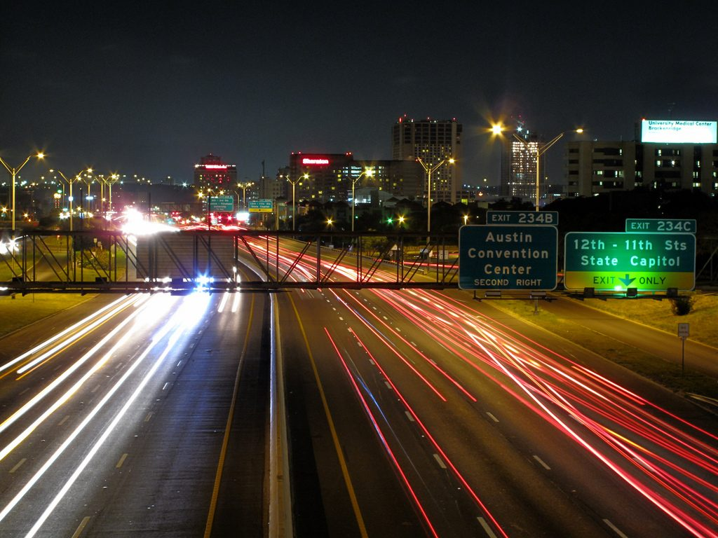 Compared to other parts of the country, commute times in Austin aren't quite as bad. Flickr user Matthew Rutledge.